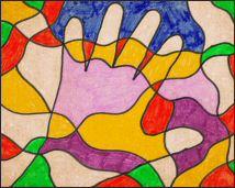 Kleurplaten Voor Volwassenen Handen.Voor Volwassenen Mooie Artistieke Kleurplaten Met Voorbeeld Om
