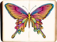 Kleurplaten Vlinders Voor Volwassenen.Voor Volwassenen Mooie Artistieke Kleurplaten Met Voorbeeld Om