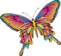 Volwassen Kleurplaten Vlinders.Kleurplaat Mandala Vlinder
